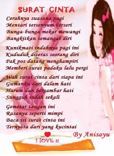 Contoh Surat Cinta Romantis 2013 Suratkerja Com