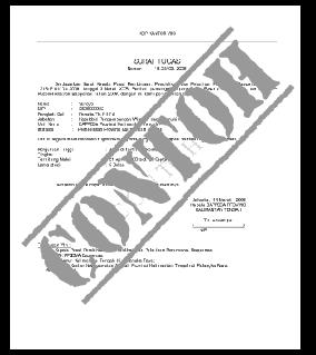 Contoh Format Surat Perjanjian Hutang Suratkerja Com