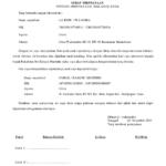 Surat Pernyataan Hak Asuh Anak Pasca Perceraian Suratkerjacom